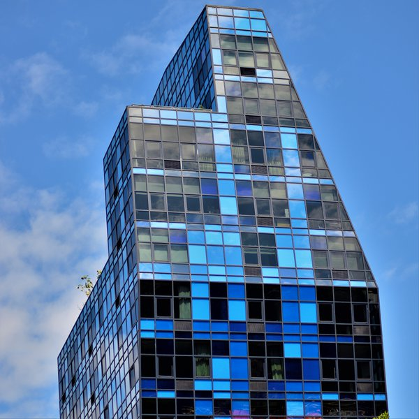 Blue Condominium Building, 105 Norfolk Street, New York, NY, 10002, Lower East Side NYC Condos